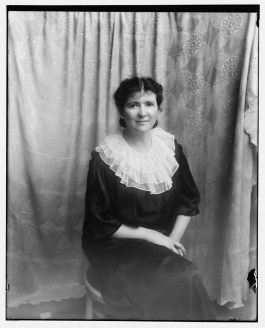 Evans, Mrs. George (Mary Handy) grand niece of Matthew Brady, May 2, 1934
