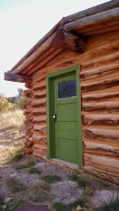 The guest cabin at Lockhart Ranch