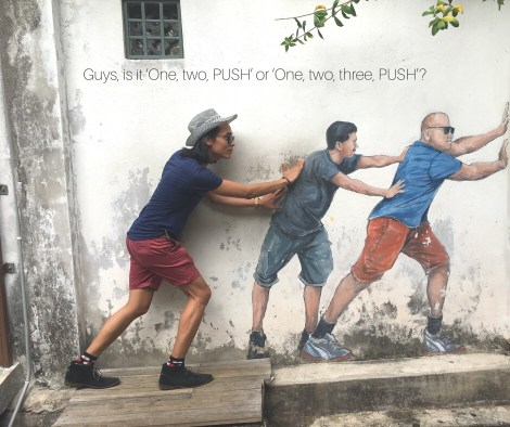 George Town, Penang: Street Art for Cat People & Where to Find Them