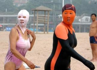 China's latest beach trend. Attraction or Repulsion