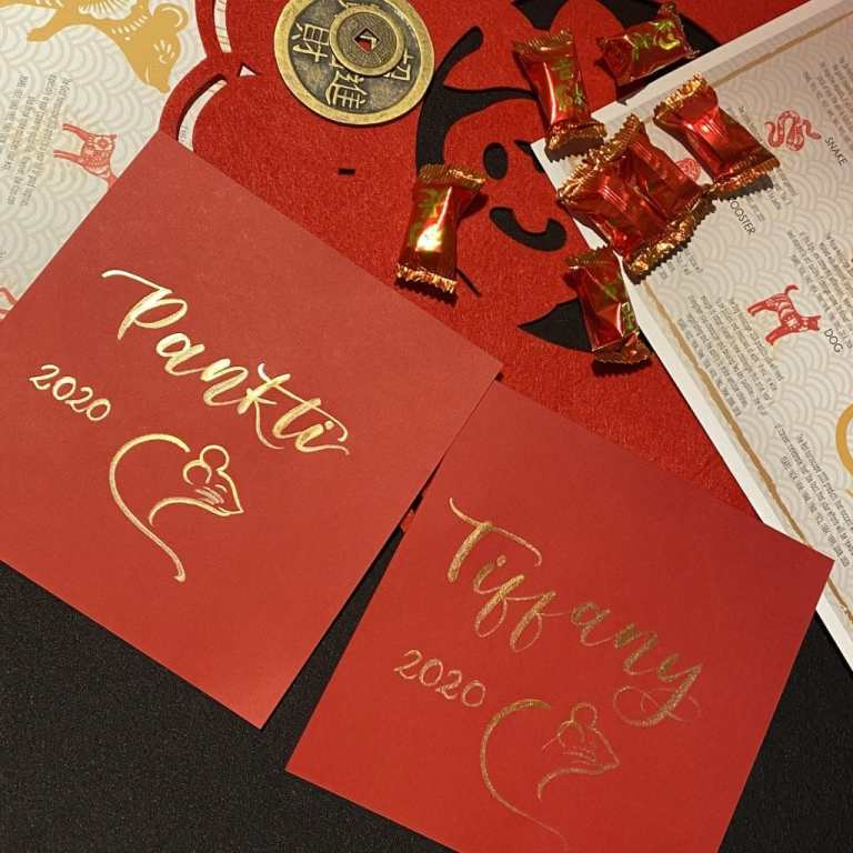 Chinese New Year, Los Angeles calligrapher, brush calligraphy