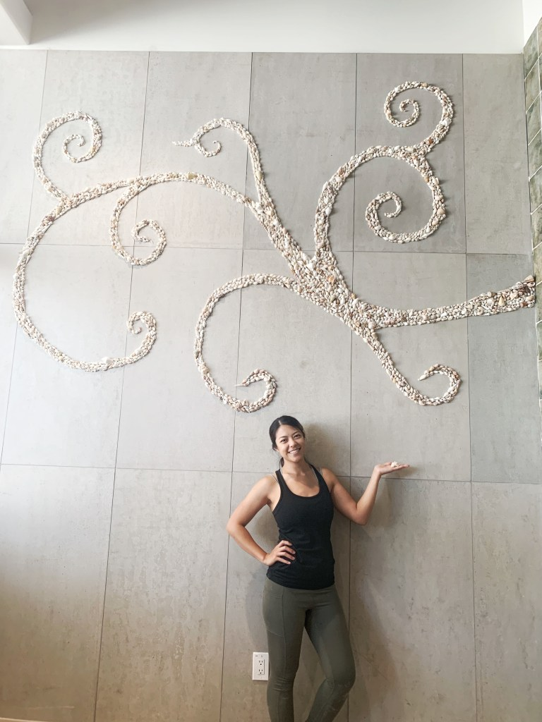 Step by Step Process on How to build a beautiful large seashell mural, hand designed and crafted by Wander Crafter