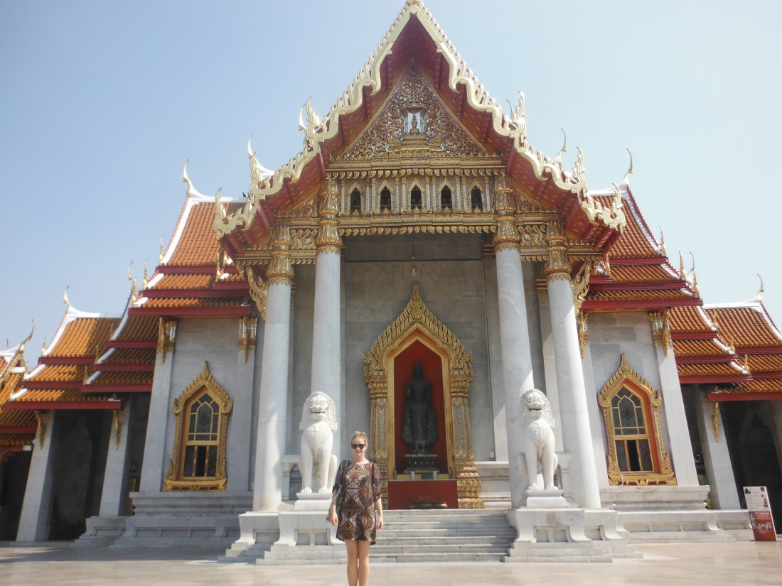 Temple in Bangkok - wanderdolls.com