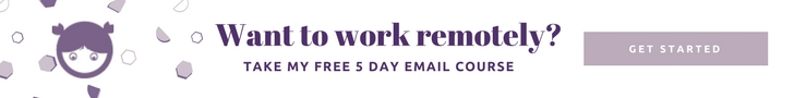 work remotely course