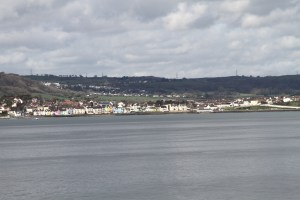 Stena ferry view