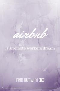airbnb remote worker