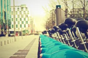Dublin in a day - bikes