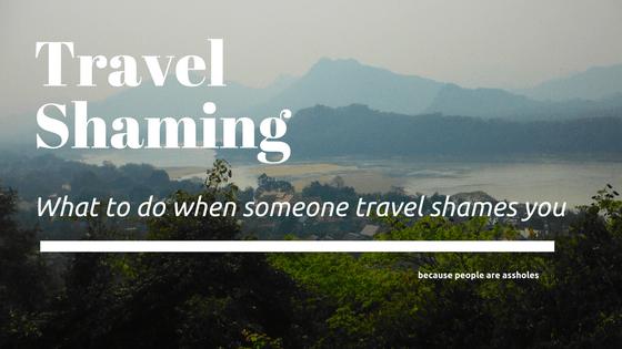 travel shaming