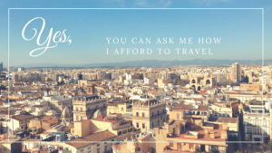 afford to travel