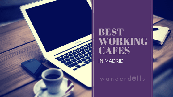 working cafes in Madrid