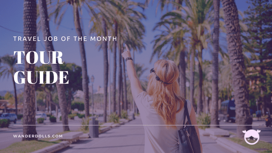 travel job of the month - tour guide