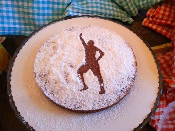 Kuchen von meinen Freunden. Danke Urs, Anna und Lia!