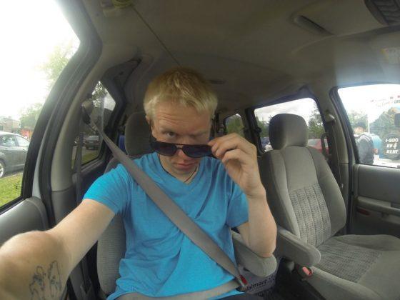Wenn Maik schon mit meiner GoPro rumspielt landet er nun auch auf meinem Blog :-D