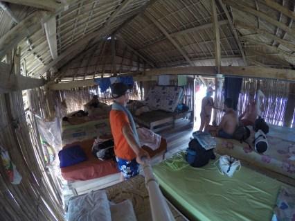 San Blas Inseln, in der Unterkunft