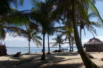 San Blas Inseln, auf der Insel