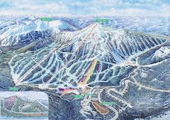 Karte vom Apex Resort