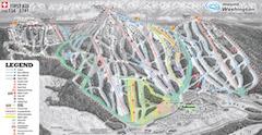 Karte von Mount Washington