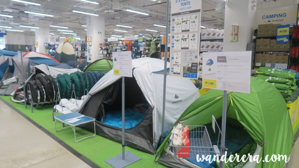 Quality camping tents