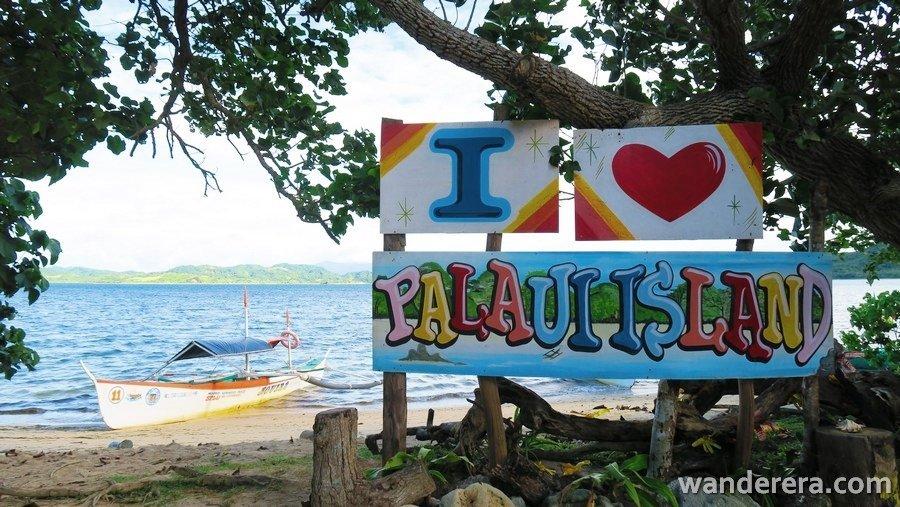 I love Palaui Island