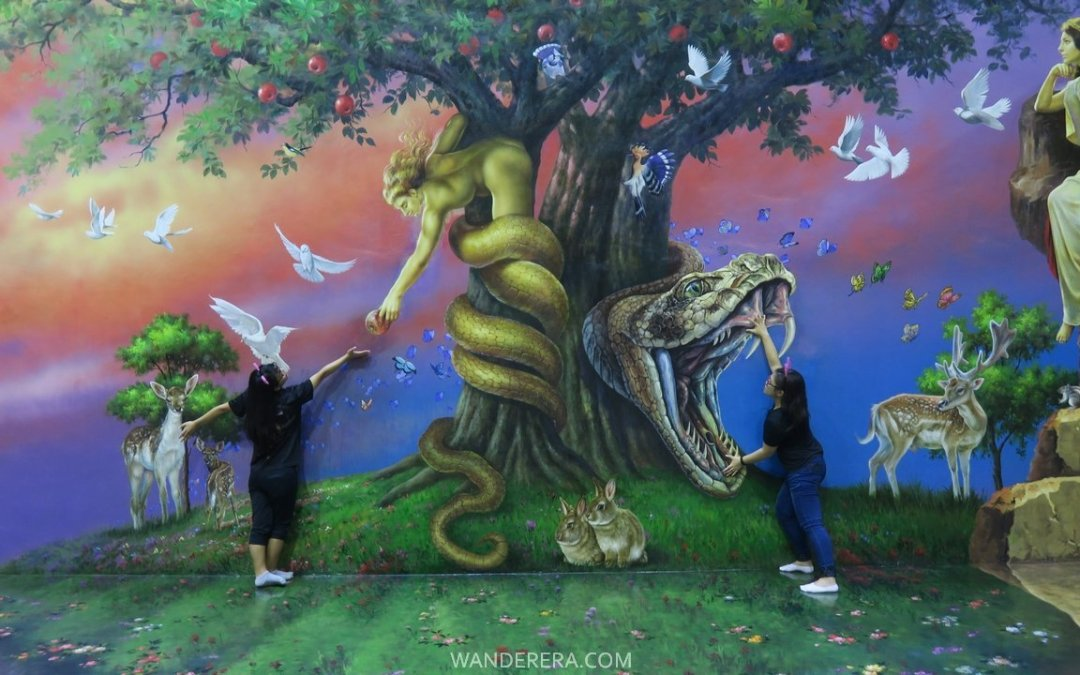 Art in Island: Asia's Largest 3D Trick Art Museum