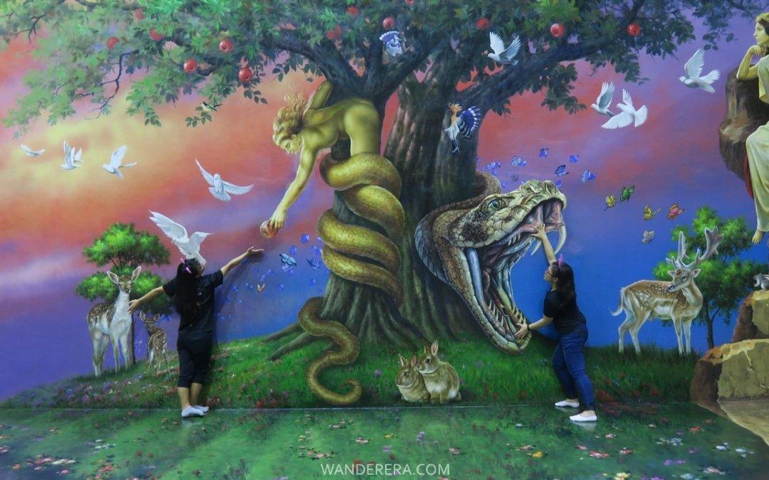 Art in Island Manila, Philippines: Asia's Largest 3D Trick Art Museum