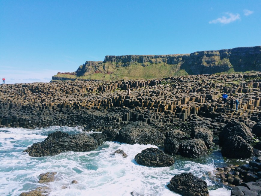 Giant's Causeway is quiet in spring