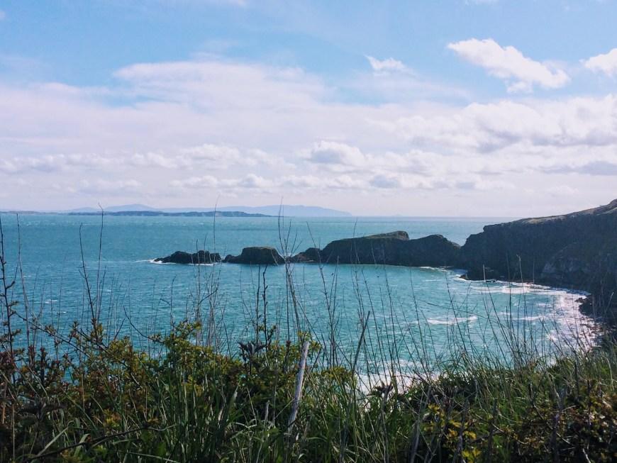 Sea views in Northern Ireland, UK