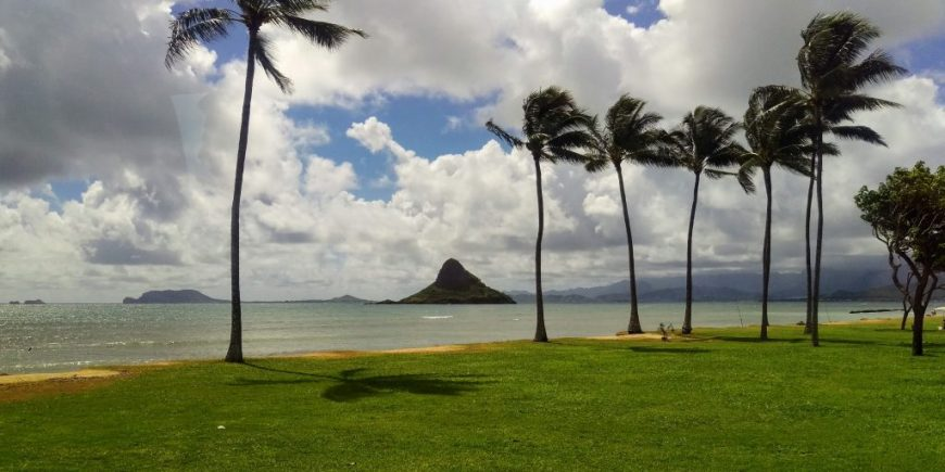 China Man's Hat, Hawaii