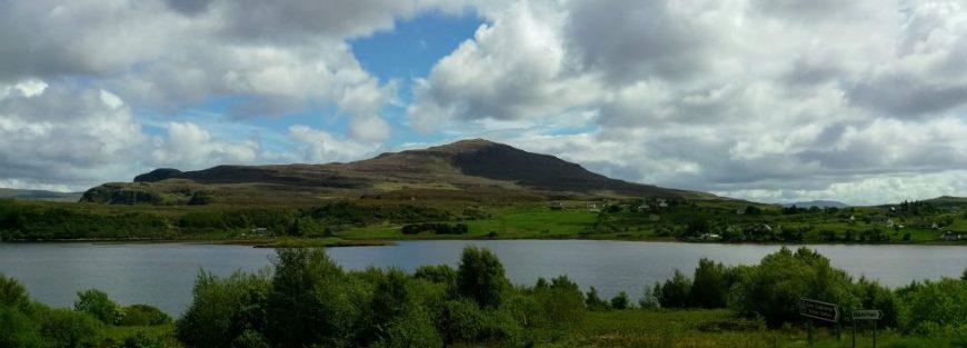 Scotland lake and landscape