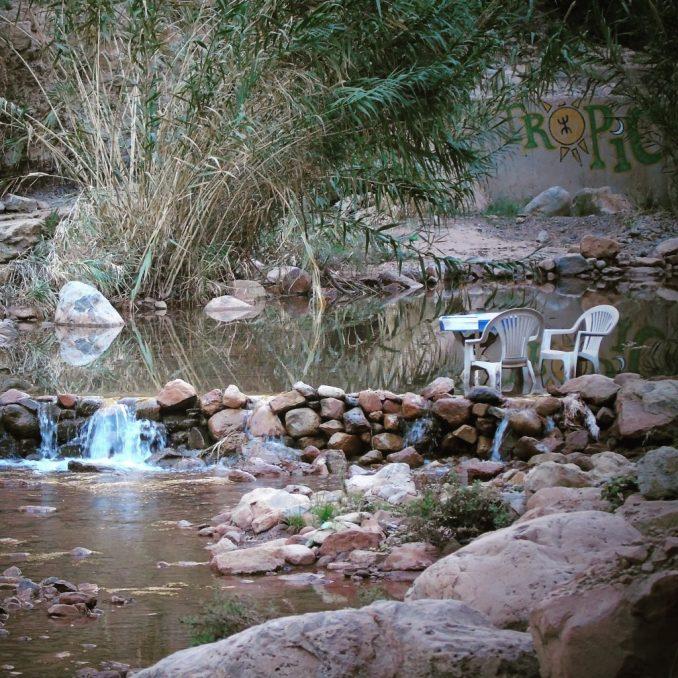 Cafe Tropical, Paradise Valley, Morocco