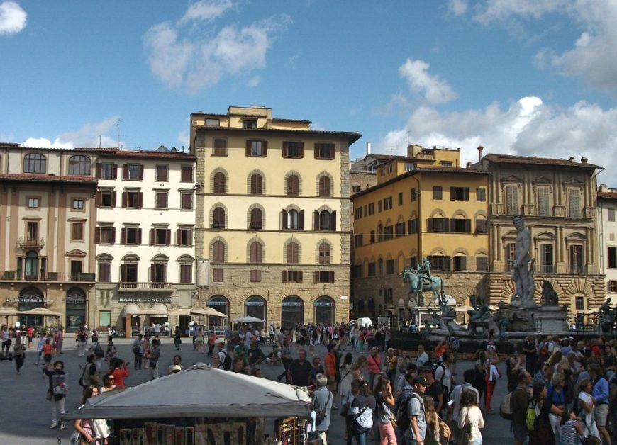 48 hours in Florence: Piazza Della Signoria, Florence, Italy