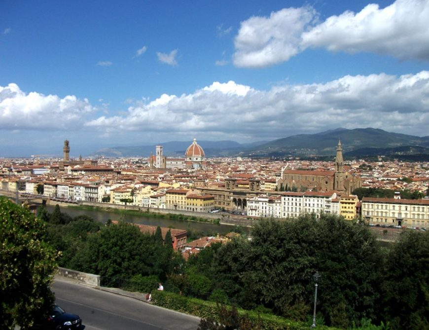 Florence skyline, Florence, Italy