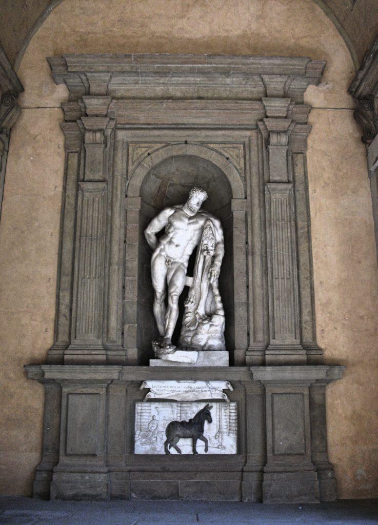 Statue in Boboli Gardens, Florence