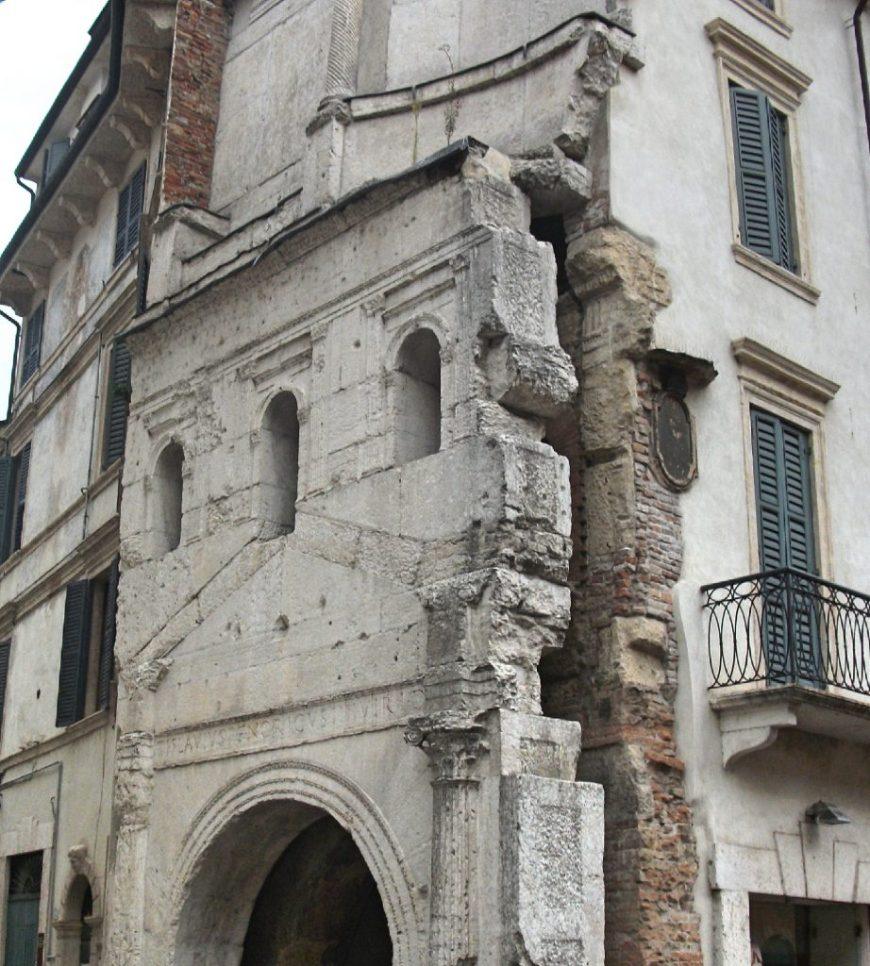 old ruins, Verona, Italy