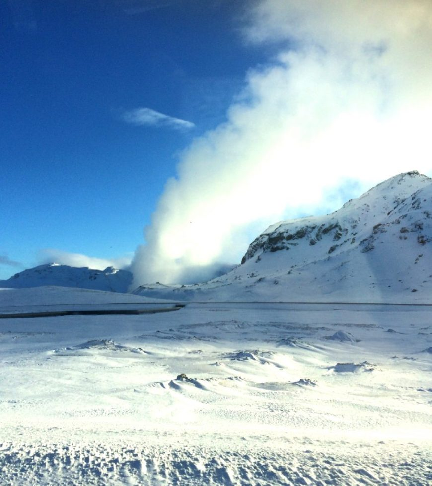 Natural hot spring, Iceland