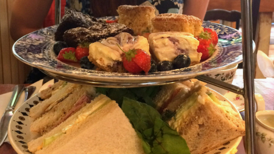 Afternoon Tea at Coz and Baloney's Tea Room, Bristol