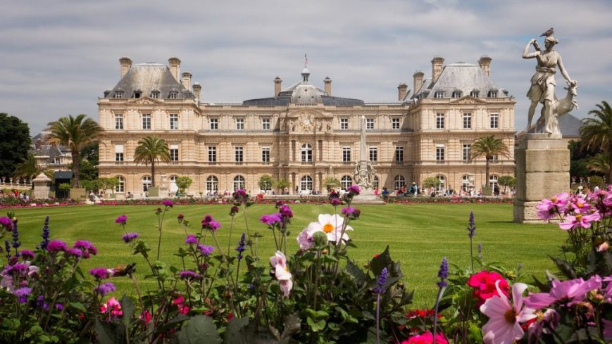 Jardin de Luxembourg in summer