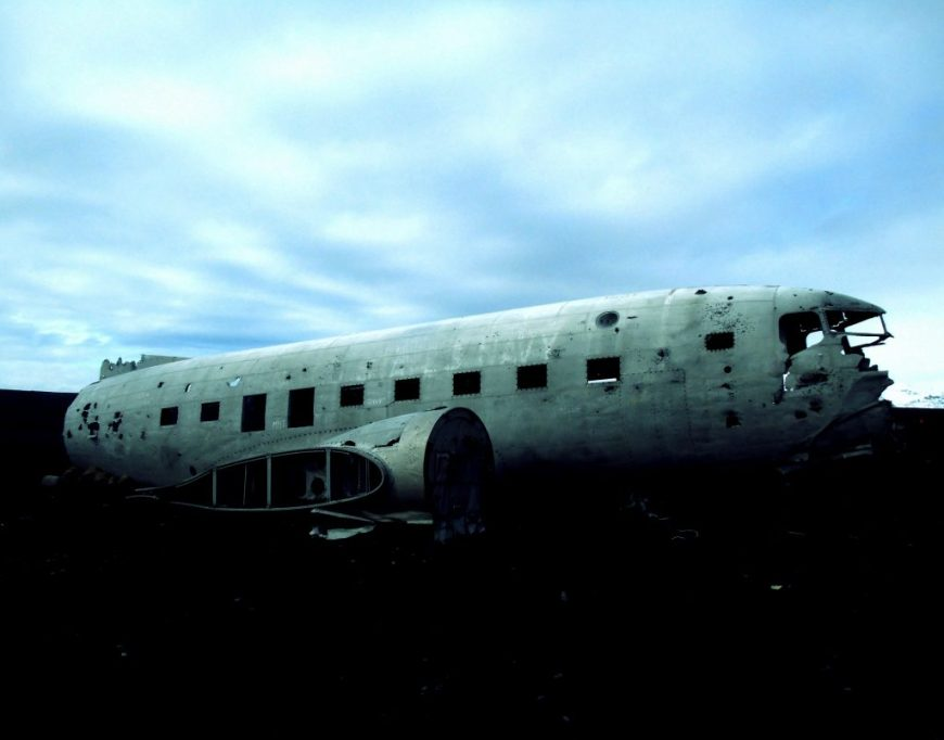 Crashed planed in Sólheimasandur, Iceland