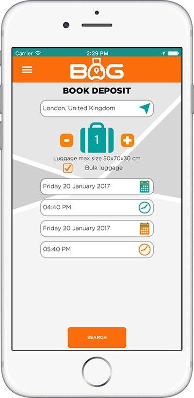 BagAPP - Screenshot 1