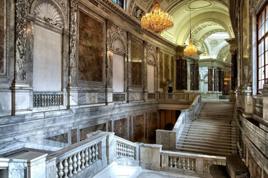Inside Hofburg Palace Vienna