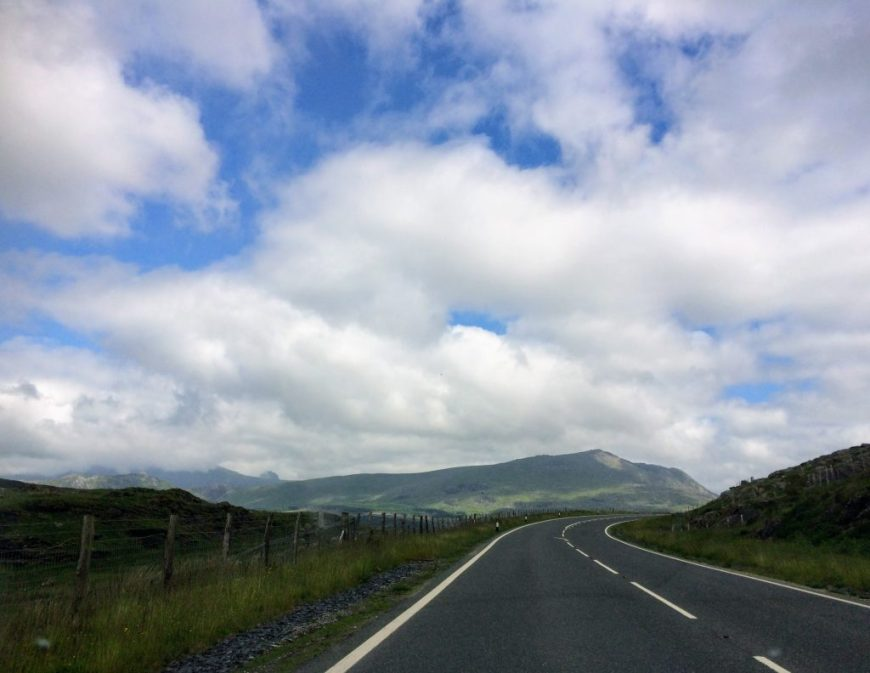 Driving Through Wales
