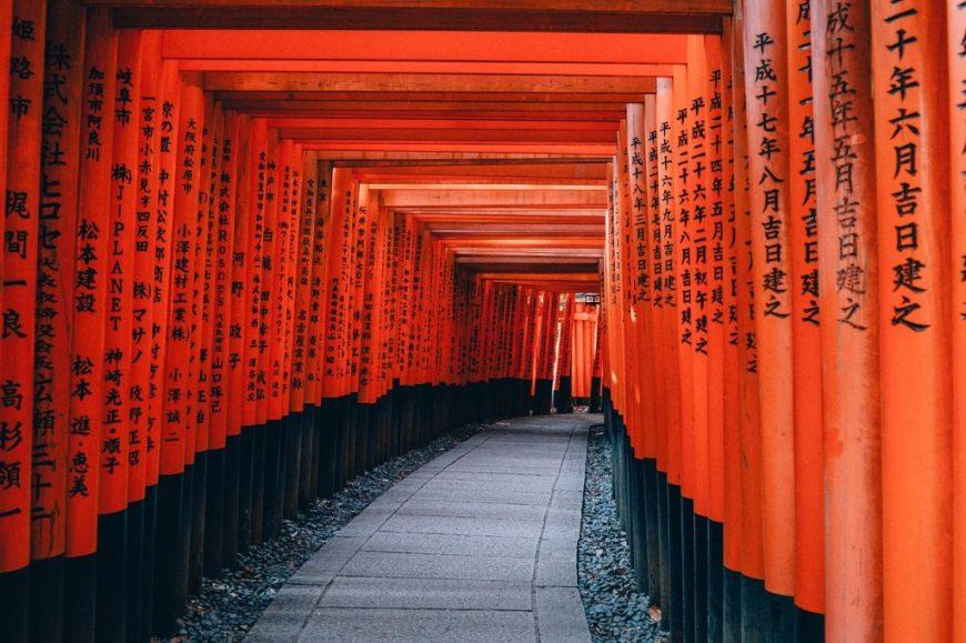 Visiting Japan as a tourist