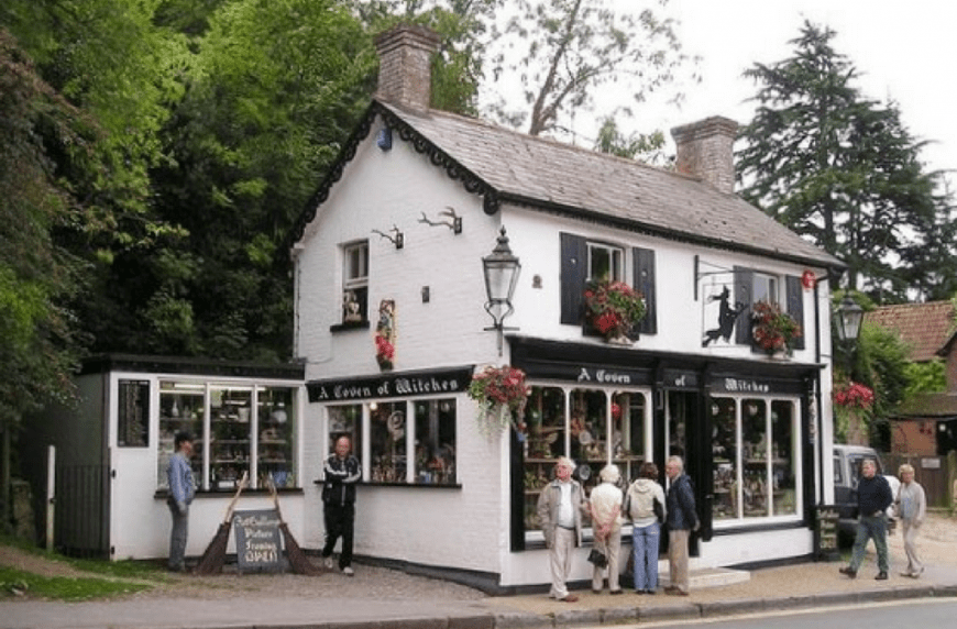 Burley Witch Shop: A Coven of Witches Shop, Burley