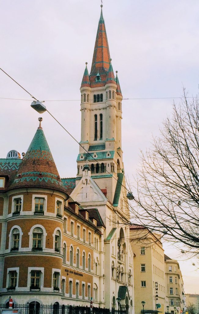 Fairytale buildings in Vienna
