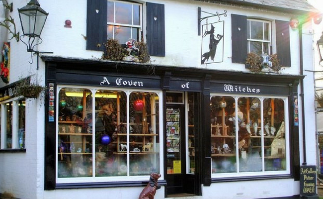 Burley Witch Shop: Witchcraft & Smuggling in Burley Village