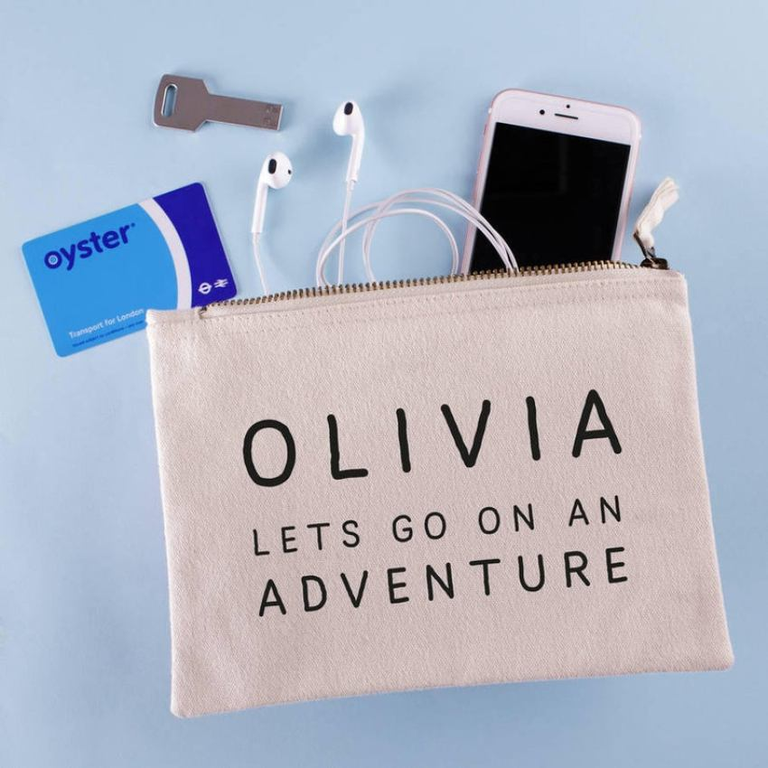 Personalised Travel Pouch