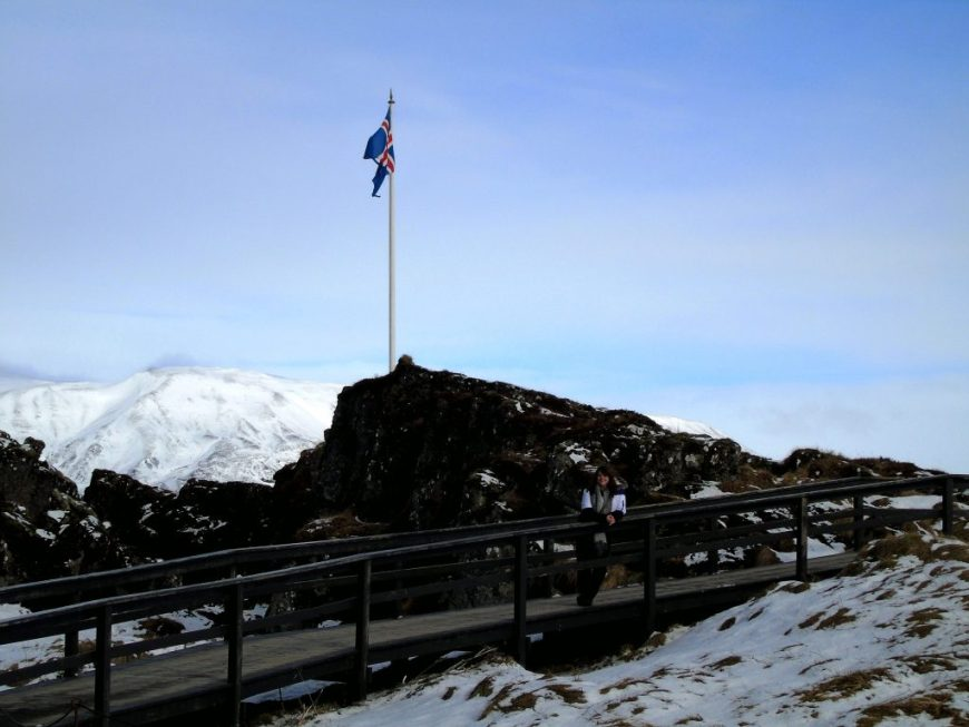 Thingvellir Viewing Deck