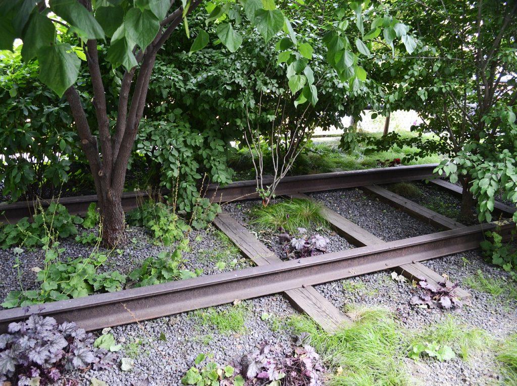 High Line Train Tracks