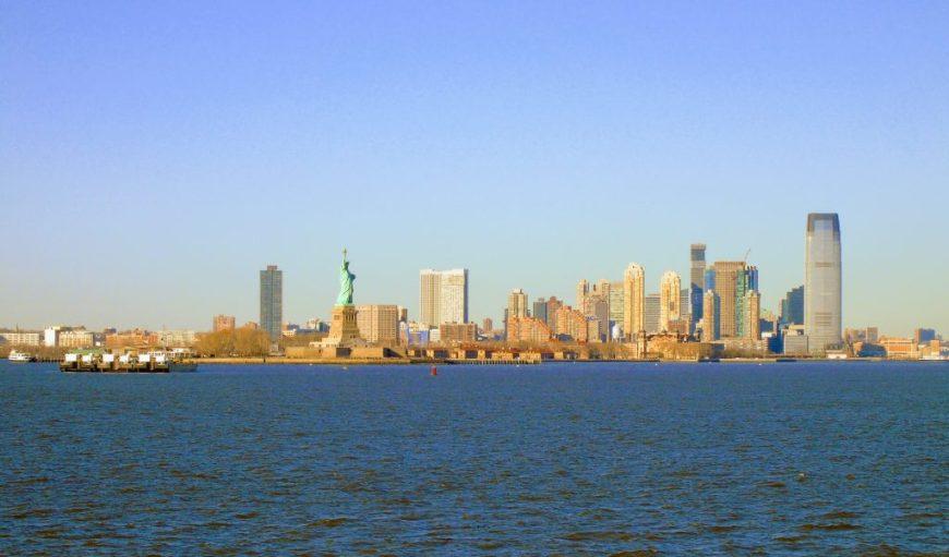 Staten Island Ferry, Skyline View