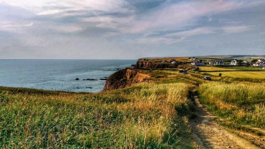 Bude Coastal Path in Cornwall